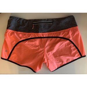 Lululemon Run Speed Up Shorts Size 10